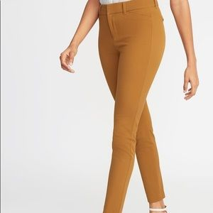 NWT Old Navy Brown Mid-rise Pixie Ankle Pants